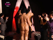 Nude catwalk on podium - Celebs Roulette Tube