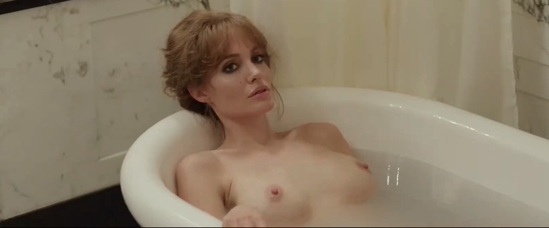 Angelina Jolie Nude Pictures angelina jolie -the sea (2015) - celebs roulette tube