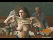 Claire Chust nude scene from Damien veut changer le monde (2019)