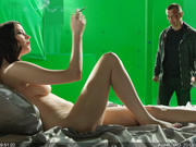 Eva Green - Sin City: A Dame to Kill For, BTS (2014)