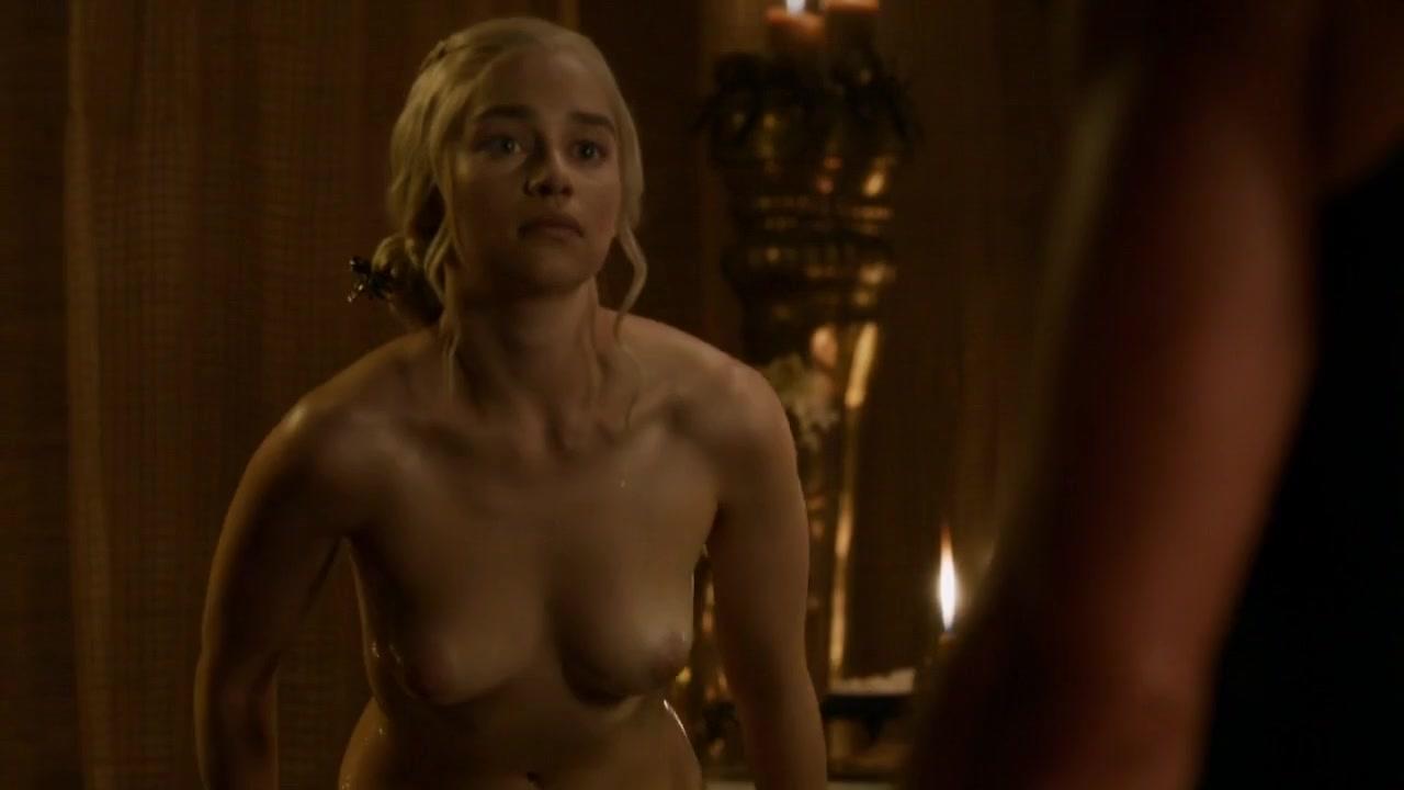 Emilia clarke nude scene game thrones series