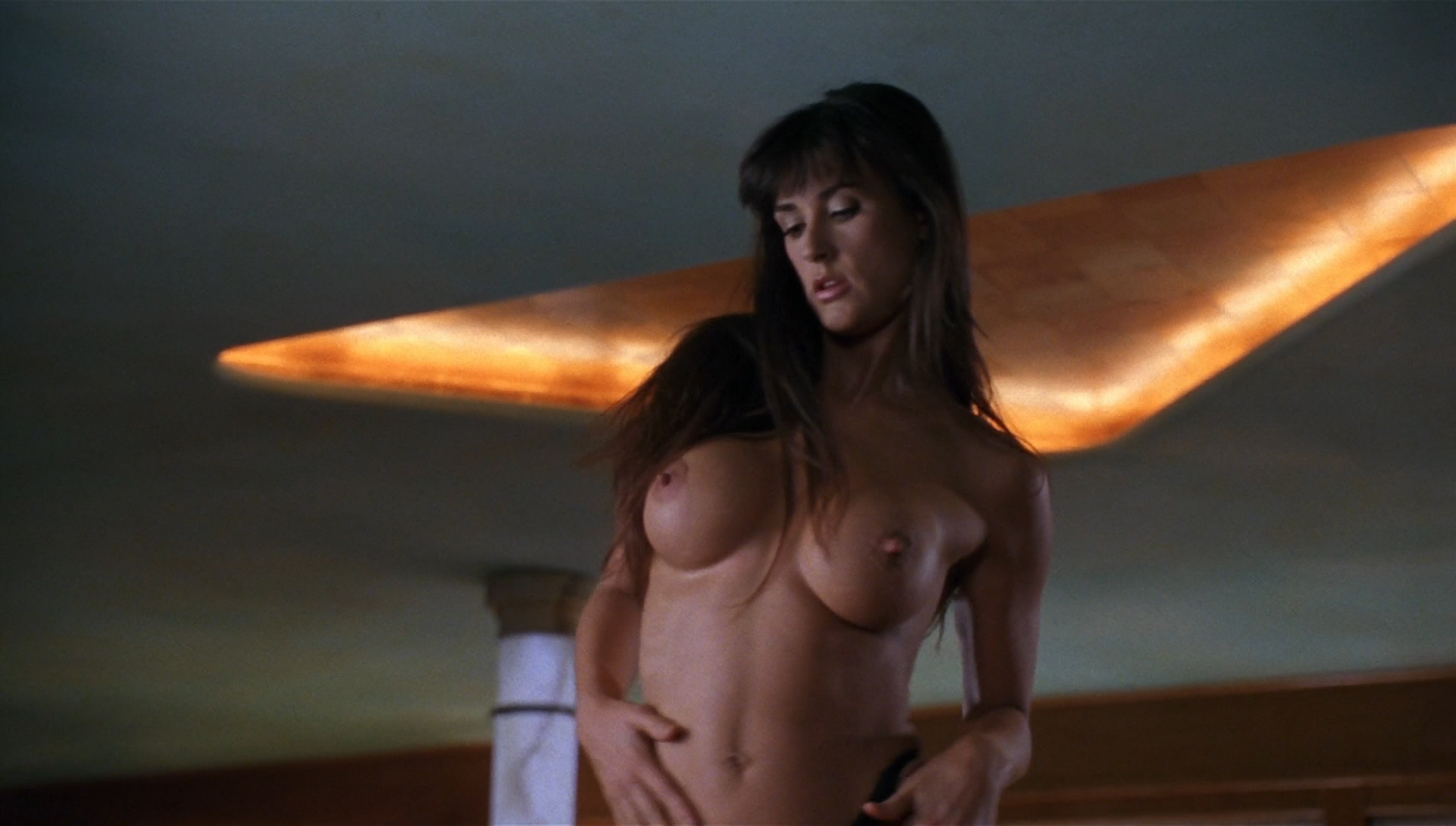 Frontal full naked demi moore, cum on small tits bukkake